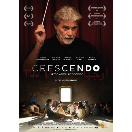 Crescendo hashtag makemusicnotwar